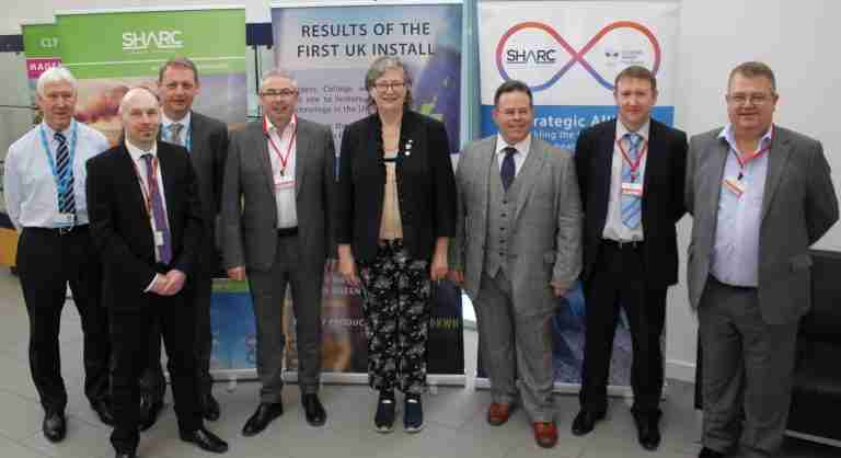 Scotlands Shadow Minister visits award-winning green energy site at Borders College