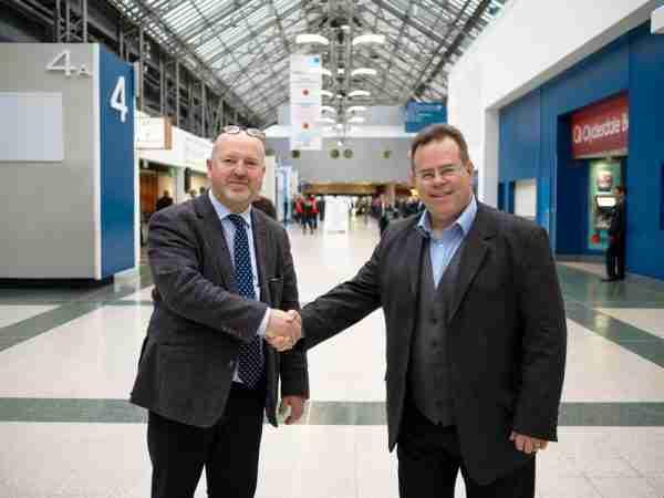 Russ Burton and Warren Bowden at All Energy 2018