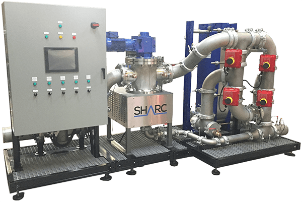 Product Image of the SHARC Wastewater Heat Recovery System