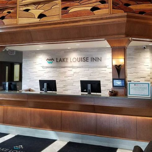 Lake Louise Wastewater Front Desk