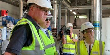 Scotland's First Minister visits the UK's first green energy hub in Stirling